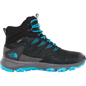 The North Face Ultra Fastpack III Mid GTX Woven - Chaussures Femme - noir/turquoise